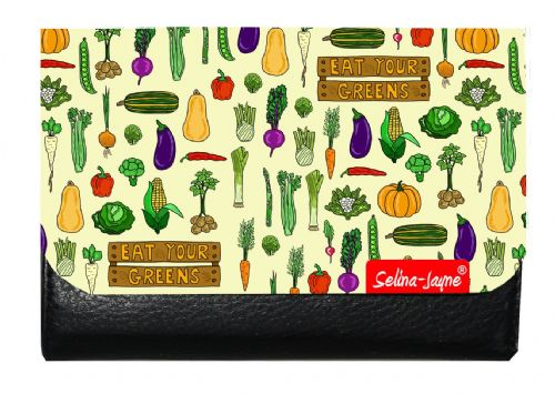 Selina-Jayne Garden Vegatables Limited Edition Designer Small Purse